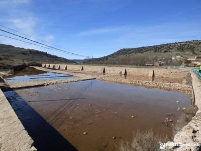 Río Salado-Salinas Imón-El Atance;sitios para visitar madrid fotos de hervas los valles pasiegos m